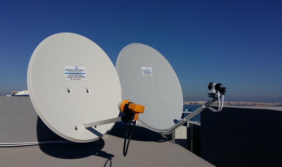 Empresa de reparación de antenas parabólicas tdt Valencia
